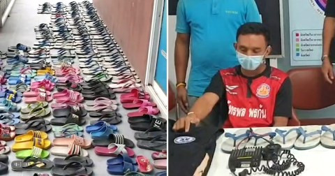 Man with shoe fetish stole 126 slippers from his neighbors so he could