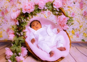 Mercy Johnson-Okojie shares adorable photos of her baby, Divine-Mercy