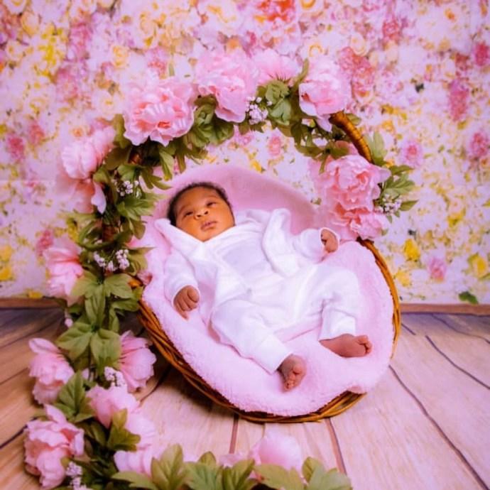 5ecebcb46136a Mercy Johnson-Okojie shares adorable photos of her baby, Divine-Mercy