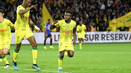 French Club Nantes name Super Eagles player Moses Simon as player of the season