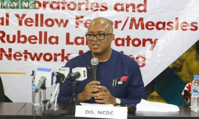 812 health workers infected with COVID19 - NCDC boss, Chikwe Ihekweazu says