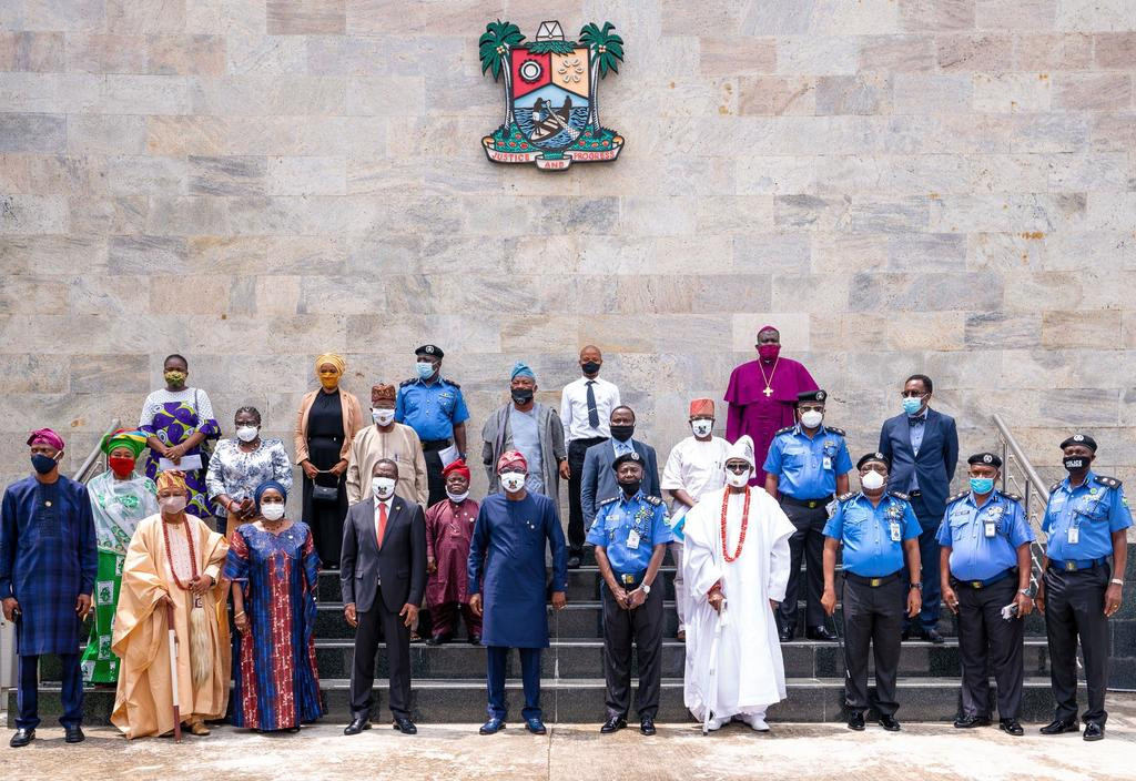 Lagos state government flags off community policing