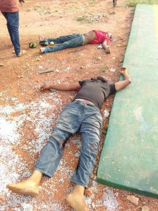 Many feared dead as robbers attack bank and police station in Kogi state (graphic photos/video)  Scores killed as armed men attack bank and police station in Kogi state (graphic photos/video) 5ed94ab9808f7