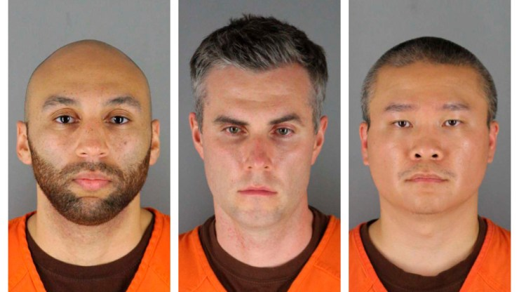 Judge sets bail at $750,000 each for the three other Minneapolis ex-officers accused of aiding and abetting in death of George Floyd