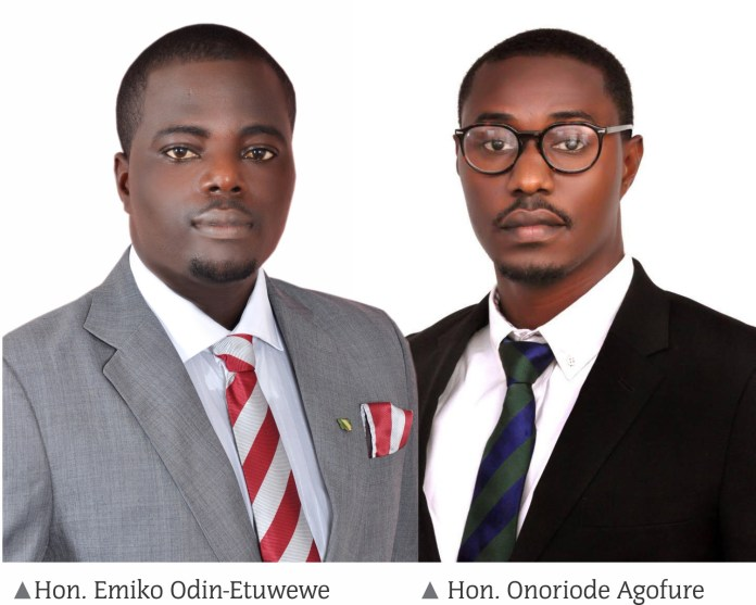 Etuwewe and Agofure made their constituencies proud and famous under the Governor Sen. Ifeanyi Okowa?s administration
