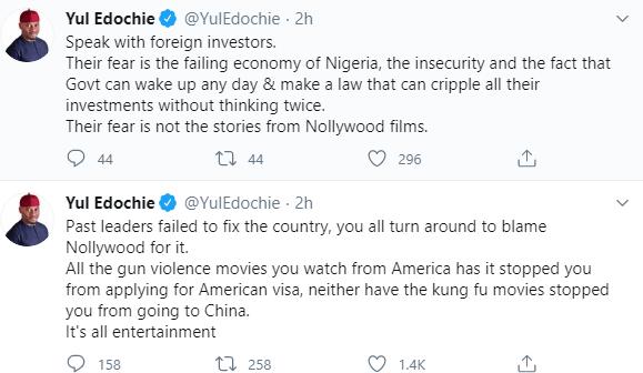 Yul Edochie Replies After Reno Omokri Blamed Nollywood For Misrepresenting Nigeria 360aproko
