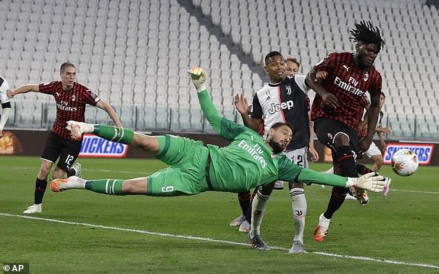 Juventus 0-0 Milan (1-1 agg): Juve make it to Coppa Italia final despite Cristiano Ronaldo
