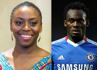 I once had a crush on Michael Essien - Chimamanda Adichie reveals