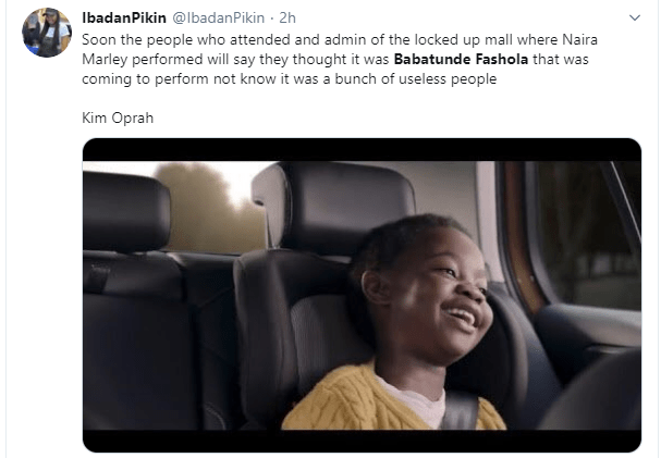 Naira Marley, Nigerians react to his alleged impersonation of Minister of Works Babatunde Fashola on Executive Jet manifest