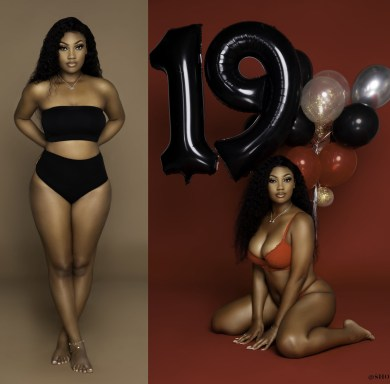 Birthday photo of 19-year-old lady shocks Twitter users
