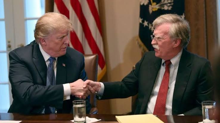 Washed up creepster John Bolton is a lowlife who should be in jail' - Trump reacts as Bolton's new book hits shelves