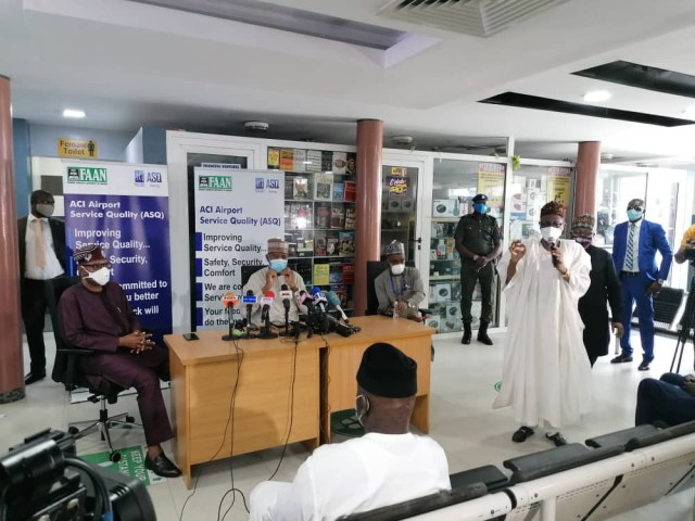 Airports are about 90% ready for reopening- Minsiter of Aviation, Hadi Sirika