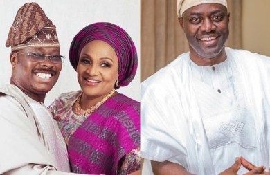 Makinde claimed he called me but he never did, we will all die one day – Ajimobi's widow, Florence fires back at Oyo state Governor