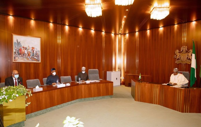 COVID-19: Buhari meets with Presidential Task Force to determine next phase (Photos)