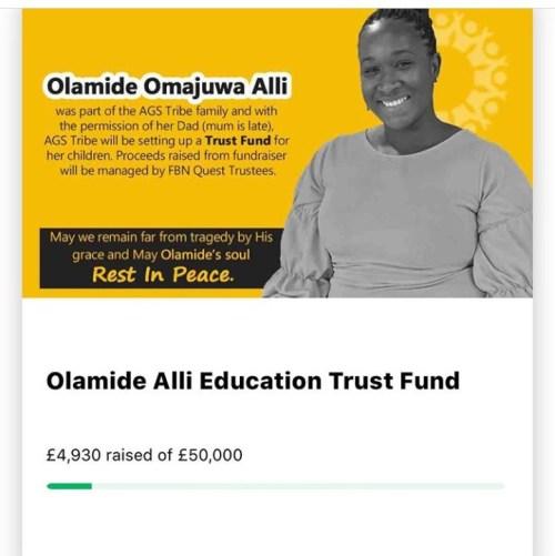 5efc809b94140 - Nigerians Contribute 22 Million Naira For Slain Olamide Alli's Kids