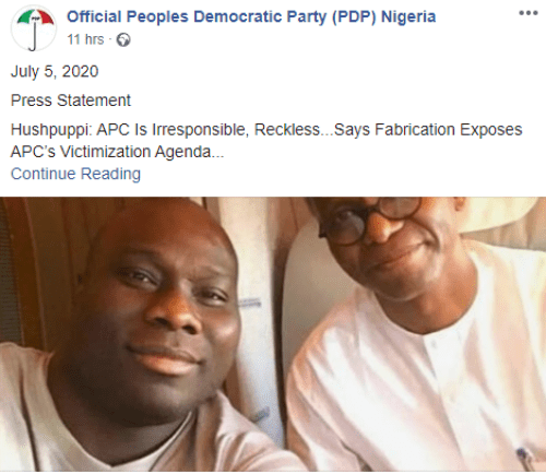 "5f02d29d3e7be - ""This Is Irresponsible And Reckless""- PDP Blows Scorching As APC Calls For Investigation Into Hushpuppi's Alleged Hyperlinks With Some Of Its Members"