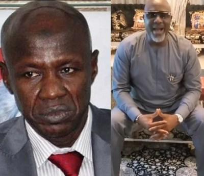 Senator Dino Melaye releases new song to mock Ibrahim Magu, suspended EFCC boss