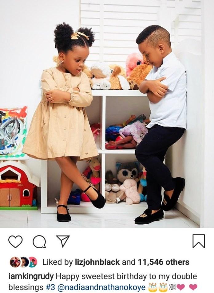 Adorable photos of Paul and Anita Okoye