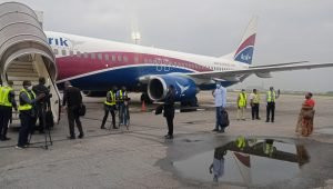 Low turnout witnessed as airports resume for domestic flights (photos)