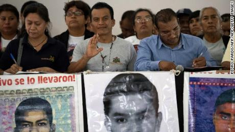 Remains of one of 43 students who went missing in Mexico more than five years ago identified