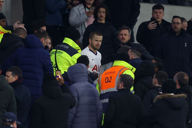 Tottenham?midfielder, Eric Dier banned for four matches and fined ?40, 000?after jumping into crowd to confront a fan