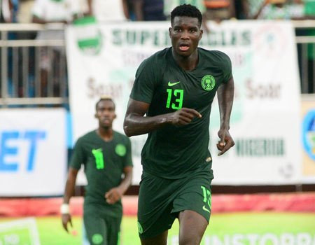 Nigerian striker Paul Onuachu tests positive for COVID-19