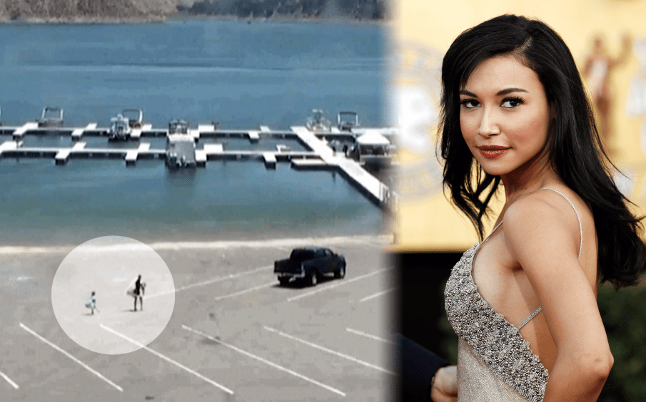 Police release video of actress Naya Rivera and her son arriving at Lake Piru