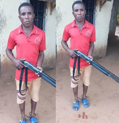 Man shoots friend with a gun obtained from a church over N1000 debt in Anambra (photos)