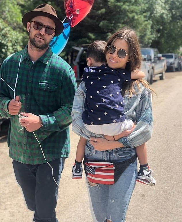 Justin Timberlake and Jessica Biel welcome a son after secret pregnancy