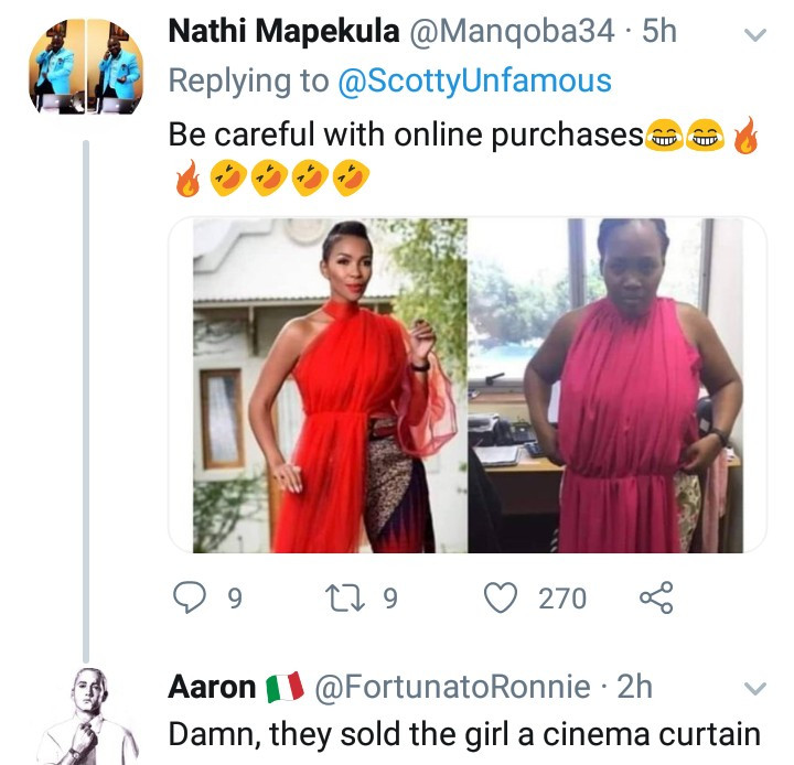 Woman orders a fancy red number online but what she got will leave you in stitches