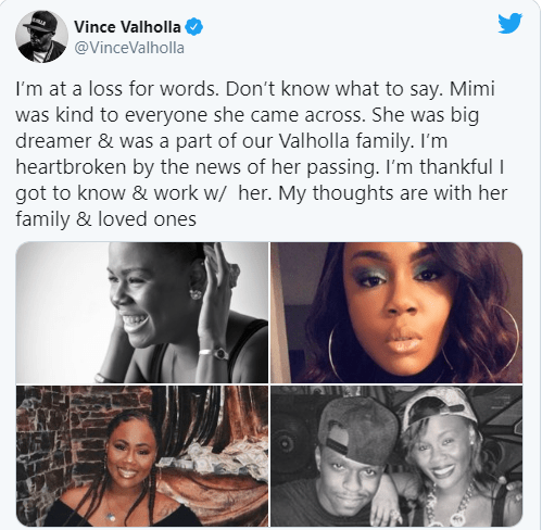 """Reality star, Demitra """"Mimi"""" Roche passes away at the age of 34"""