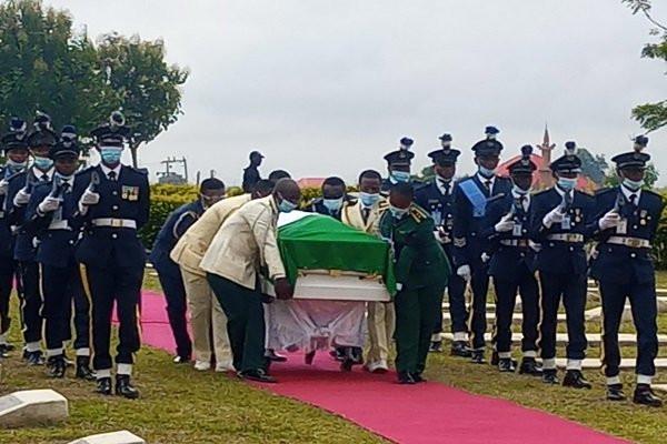 Arotile?s body arrives Military cemetery for burial (photos)