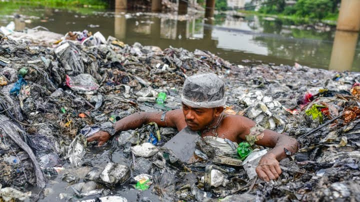 Earth to suffer 1.3b tons of plastic pollution by 2040, new study says