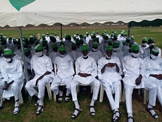 Photos from the graduation ceremony of 601 deradicalised Boko Haram combatants