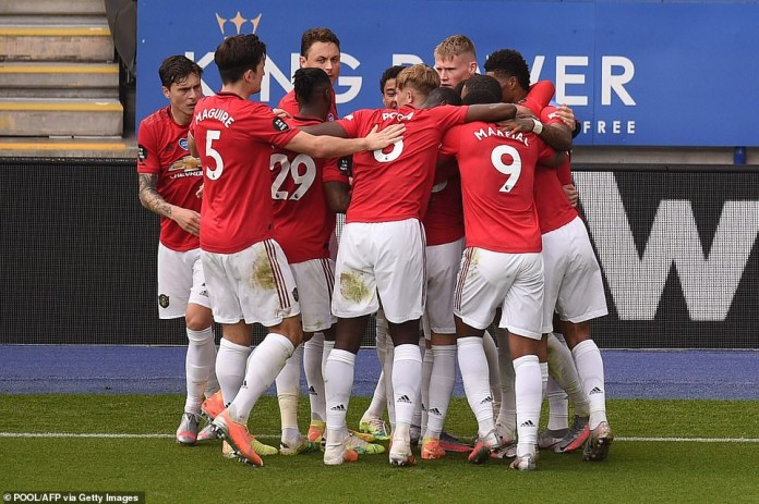 Football fans react to Man. U's surprising qualification for ...