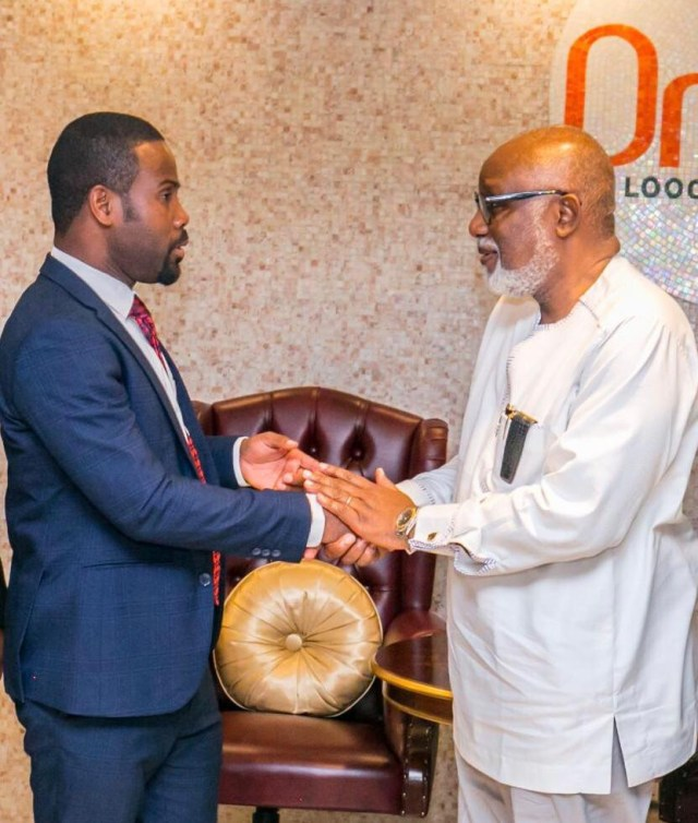 Governor Akeredolu appoints Summy Smart Francis as Special Adviser on Entrepreneurship Development
