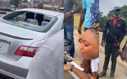 Update: Police arrest officer who allegedly shot couple's car in Lagos
