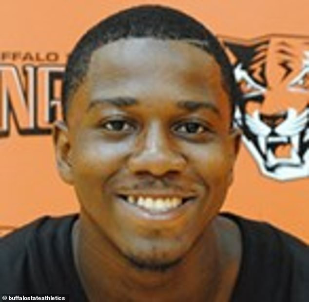 Former Buffalo State football player is fighting for his life after being shot at close range during a fight (video)