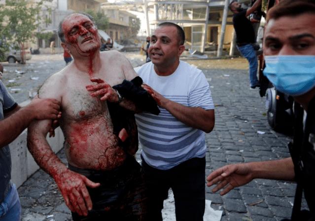 L'explosion au Liban a été causée par un soudeur alors que le bilan passe à 100 morts
