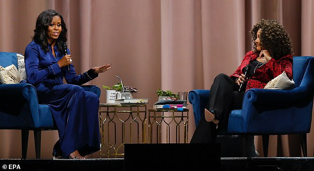 Michelle Obama reveals she is suffering from