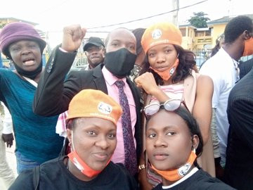 Agba Jalingo and other #RevolutionNow protesters discharged and freed by Lagos court