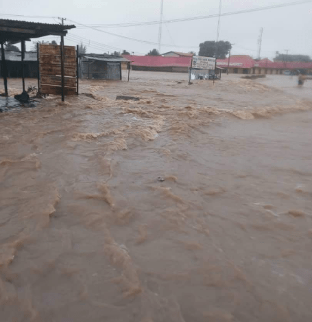 Flood destroys homes in Kafanchan as residents are grappling with displacement due to bandit attacks