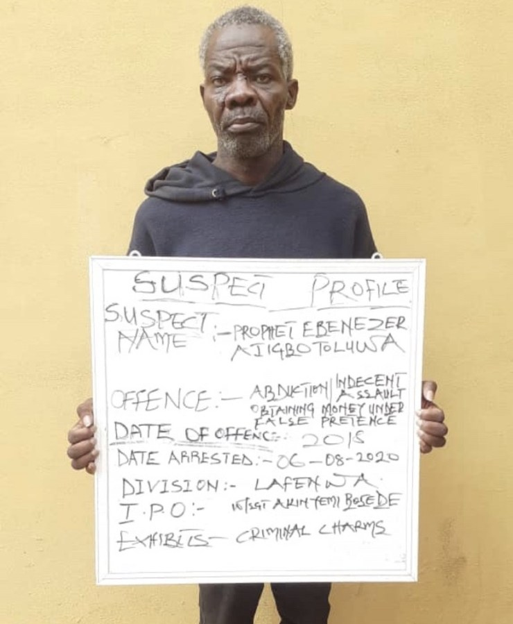 Pastor arrested after impregnating two underage sisters and defrauding their mother of N2m