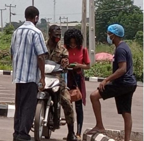 Recovered COVID-19 patient ignores her dad and goes home with the man she met at isolation center in Oyo