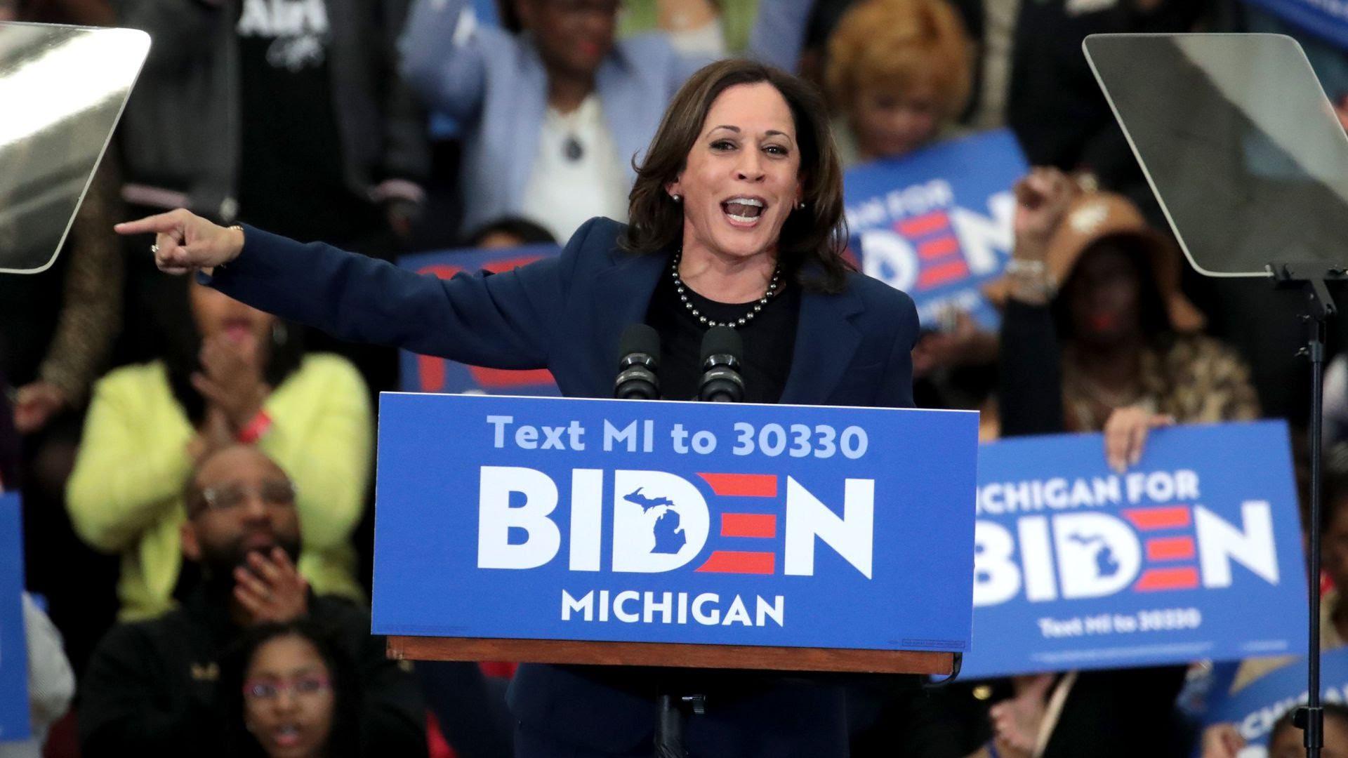 Joe Biden choisit Kamala Harris comme candidat à l'élection présidentielle de 2020