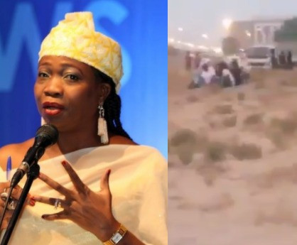 Abike Dabiri-Erewa reacts to viral video of stranded Nigerian immigrants in Dubai allegedly chased into the desert