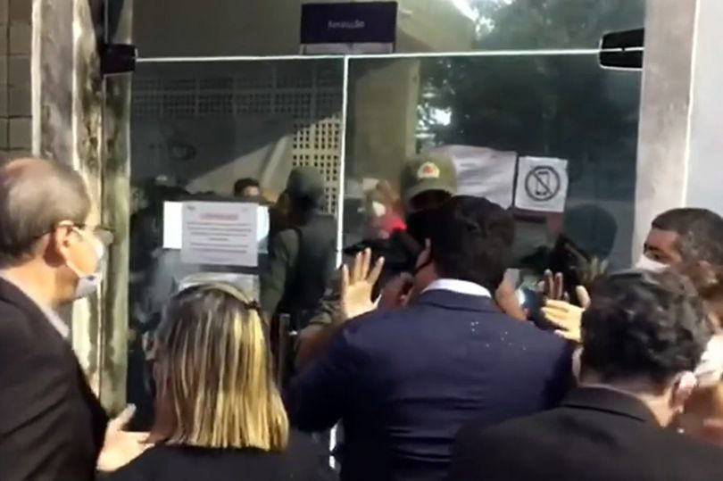 Religious protesters try to stop a pregnant 10-year-old girl from having an abortion in Brazil after she was raped by her uncle
