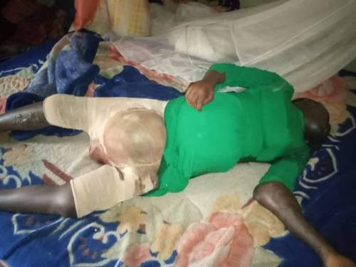 Police uncover corpse of woman locked up by husband in Kano (graphic)