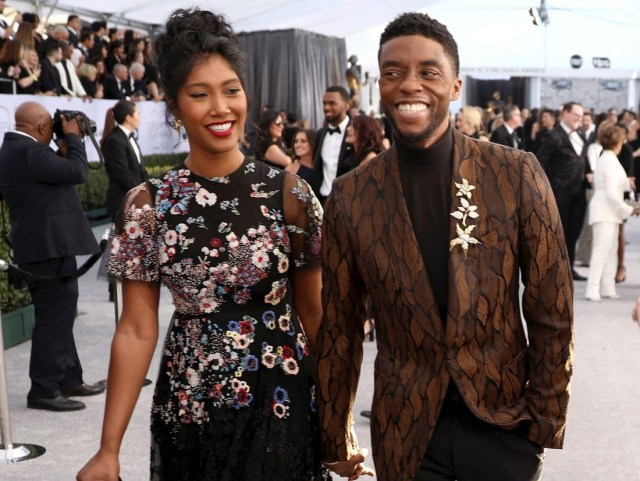 How late Black Panther star, Chadwick Boseman secretly got married before his death