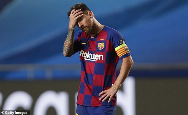 Lionel Messi transfer blow as Barcelona say his contract at the club is still valid and any interested clubs must pay his ?700m release clause